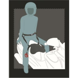 ceinture sécurité passager moto pan belt 2
