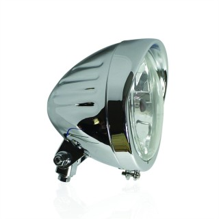 phare moto vintage chaft combo chrome