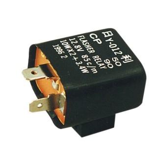 Centrale clignotant moto MAD en 12 ou en 6 volts