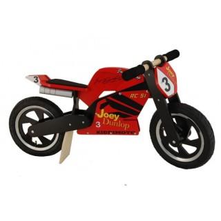draisienne moto enfant kiddimoto joey dunlop
