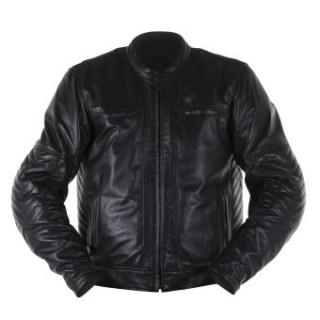 Blouson cuir Barry noir