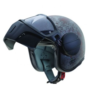 CASQUE CABERG JET GHOST RUSTY