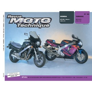 Revue Moto Technique  92 HONDA NTV650(88/94)/YAMAHA YZF 750R(93/94)