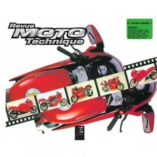 Revue moto technique hors série n°7 ducati 750 paso sport 1987 à 1993