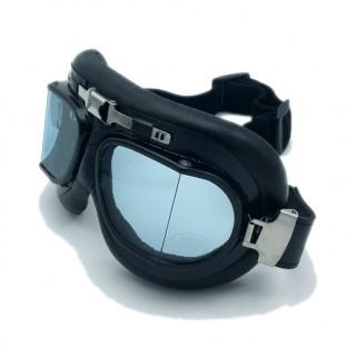lunettes aviateur vintage noir écran fumé