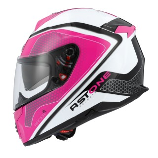 casque moto integral femme astone gt 1000 f hexa rose