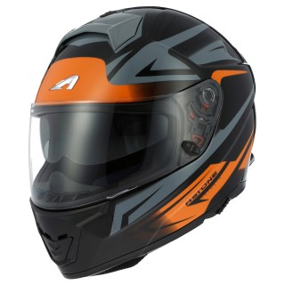 casque integral astone gt 1000 f nash orange