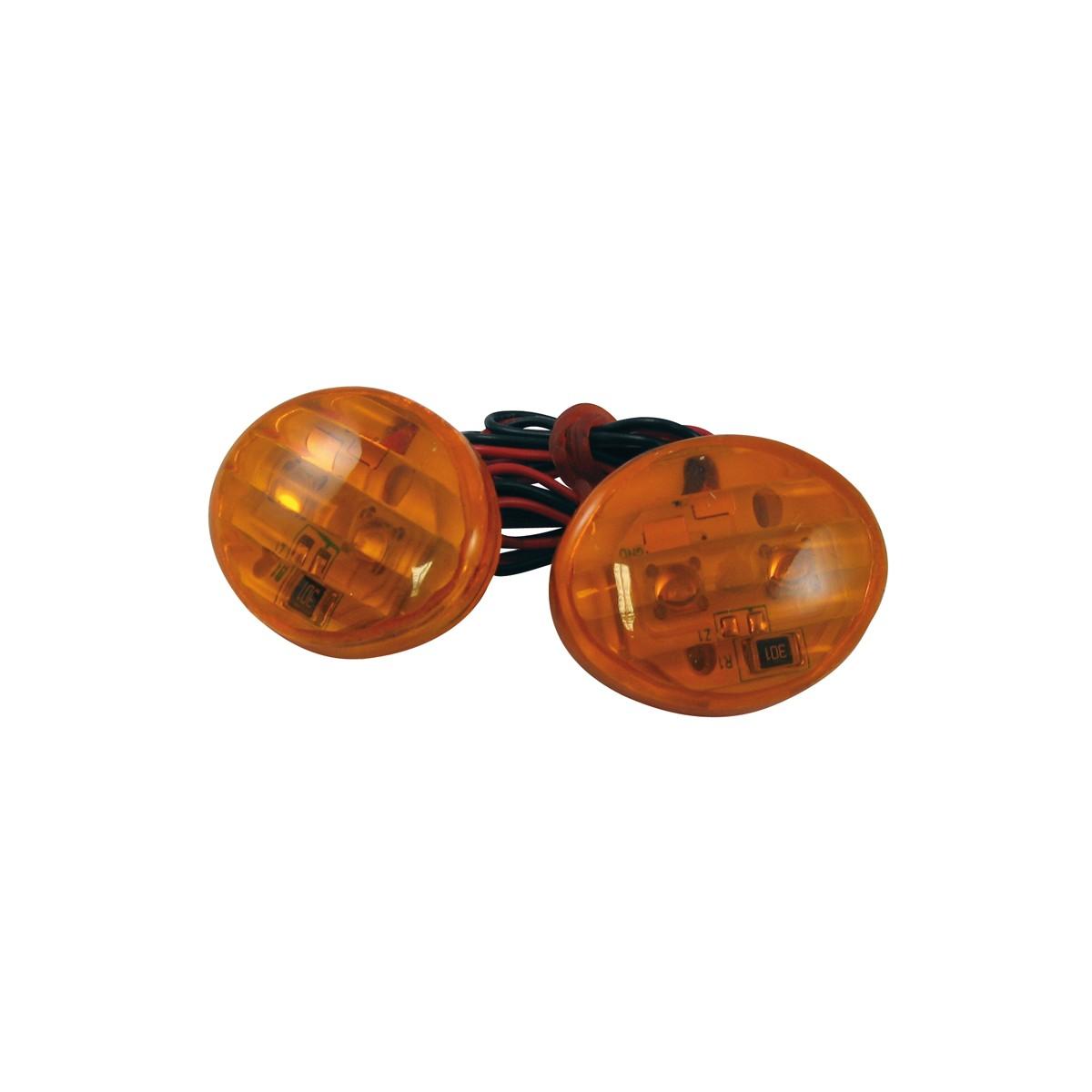 clignotants moto mad à leds orange