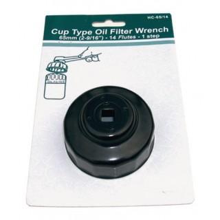 cloche à filtre à huile diamètre 65 et 68 mm