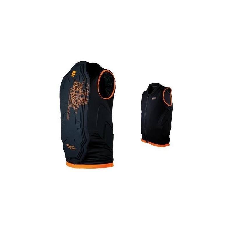gilet de protection dorsale cairn pro bike homologu niveau 2 moto. Black Bedroom Furniture Sets. Home Design Ideas