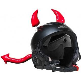 Accessoire de décoration de casque moto diable
