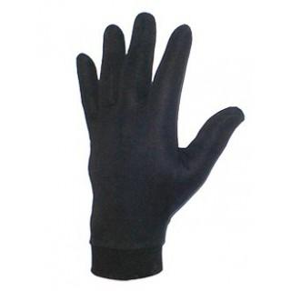 Sous gants moto en soie synthétique