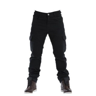 Pantalon moto Overlap Cargo noir