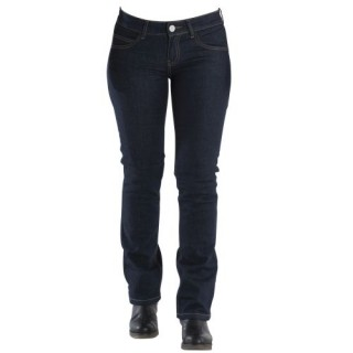 Jeans moto femme overlap valencia raw