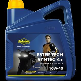 Huile moteur 4 temps Putoline Syntec 4+ 10w40 4 litres