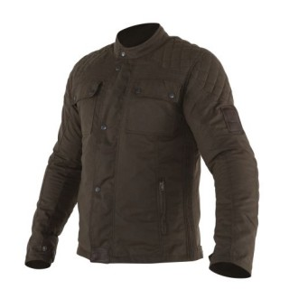 Blouson moto Overlap Phil 2 brown