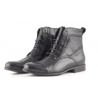 Chaussures moto Overlap Richplace noir