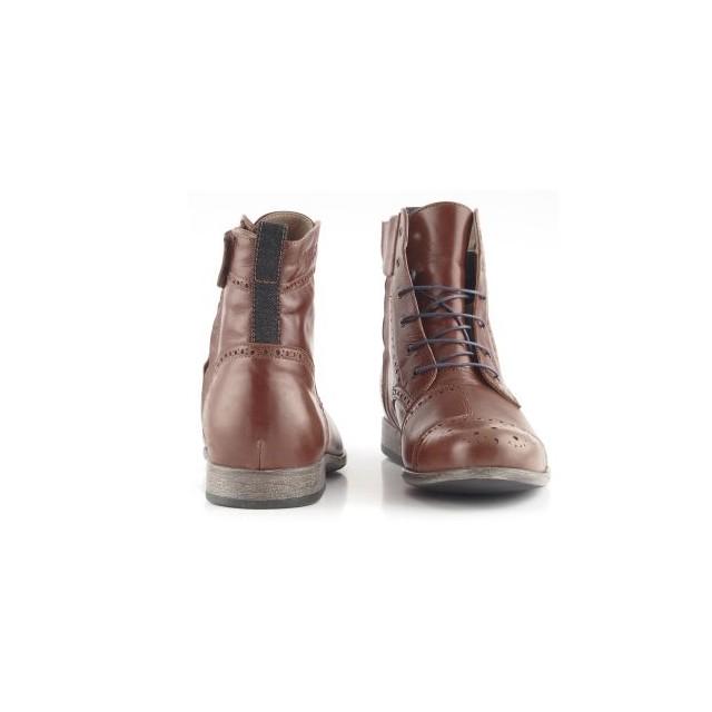 Chaussures moto Overlap Richplace marron