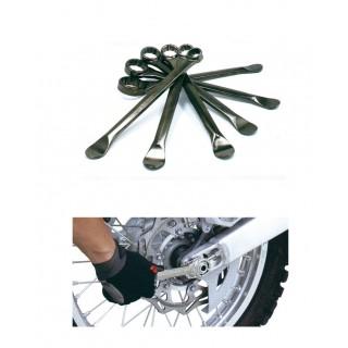 clé à oeil de 17 à 32 et démonte pneu 260 mm
