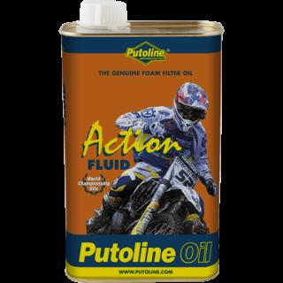 Huile Putoline action fluid pour filtre à air 1 Litre