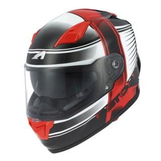 Casque intégral moto GT 900 Corsa rouge