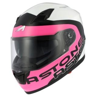 Casque moto astone GT 900 apollo rose