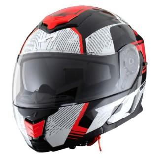 Casque modulable Astone RT 1200 graphic vip noir, blanc et rouge