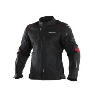 Veste moto v quattro SP-81 noir et rouge