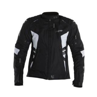Blouson moto femme v quattro SP-21 noir et blanc