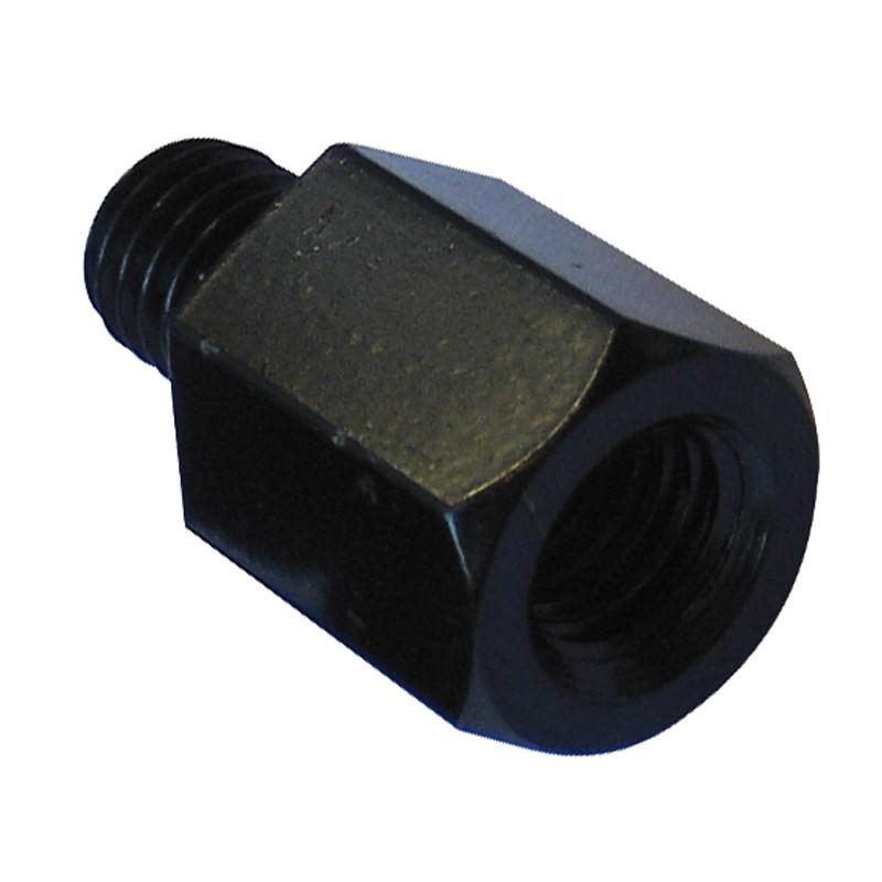 Adaptateur de rétroviseur YAMAHA noir diamètre 8 mm