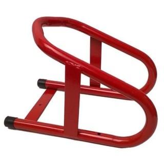 Bloque roue moto fixe Drc rouge