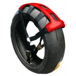 Fixe pneu Mad rouge