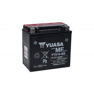Batterie YUASA YTX14-BS 12 volts 12.6 ah