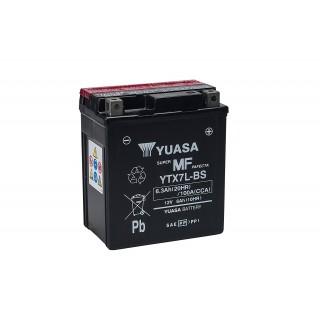 Batterie YUASA YTX7L-BS 12 volts 6.3 ah