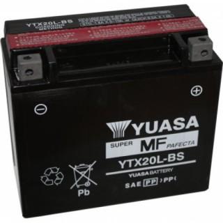 Batterie YUASA YTX20L-BS 12 volts 18.9 ah