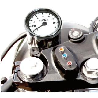 Compte-tours mécanique MAD noir ou chrome