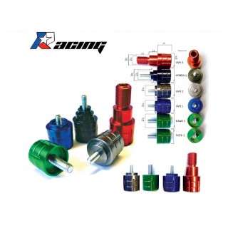 Embouts de guidon MAD racing Kawasaki