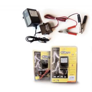 Chargeur phase 1 maintenance de batterie 12 volts