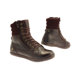 Chaussure moto homme 1964 cafe racer rugged marron