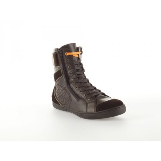 Chaussures moto homme 1964 shoes indy marron