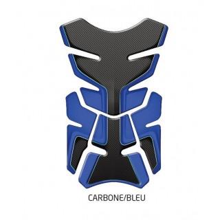 Protection de réservoir d'zign pad carbone/bleu