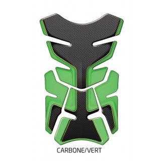 Protection de réservoir d'zign pad carbone/vert