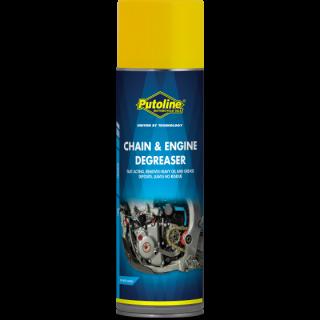 Nettoyant chaîne et moteur Putoline en 500 ML