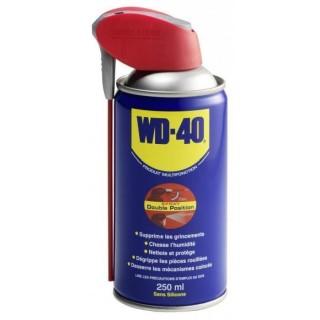 Lubrifiant multifonction jet double position WD40 en 250 ML