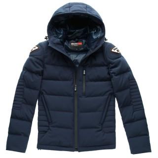 Blouson textile moto Blauer easy winter bleu