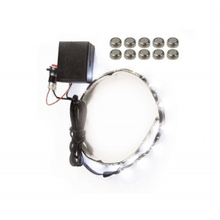 Décor Feu LED adhésif rouleau Mad 5 coloris