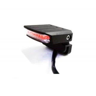 Mini feu arrière à LED universel Alann Mad avec support de plaque