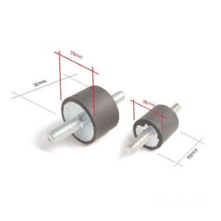 Silent bloc Mad diamètre 6 et 8 mm
