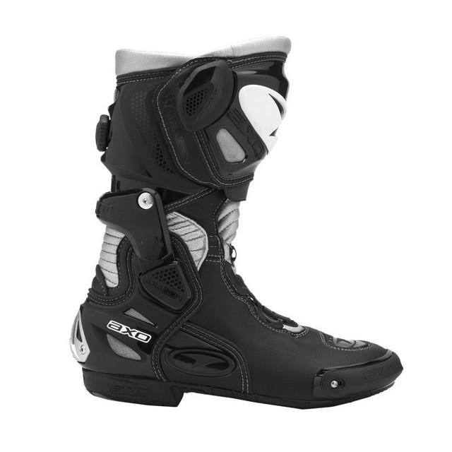 bottes moto racing axo Aragon noir