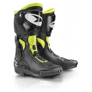 Bottes moto racing axo aragon noir et jaune